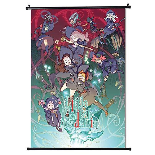 Little Witch Academia Japan Anime Póster de desplazamiento Formato 30x45cm (12 x 18 in)