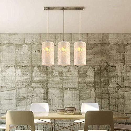 Creativo moderno simple comedor redondo de hierro plástico escultura rural lámpara de techo Ø12 5cm