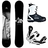System Timeless and Summit Complete Men's Snowboard Package New 2021