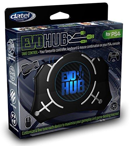 PS4 EVO HUB Tastatur-, Maus-, Controller-, Lenkrad-Adapter und -Erweiterung & Button-Konfigurator