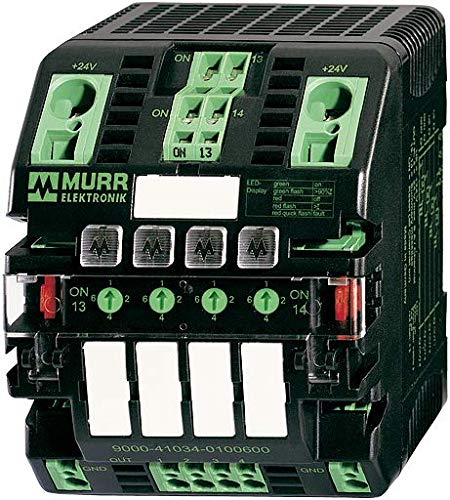 9000-41034-0401000 | MURR MICO ELECTRONIC AUXILIARY CIRCUIT, 4 CHANNELS IN: 24VDC OUT: 24V/4-6-8-10ADC