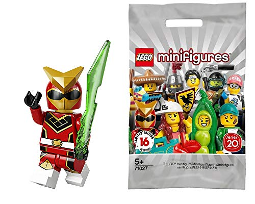 LEGO Series 20 Minifigures Super Warrior Red Power Ranger Robot 71027