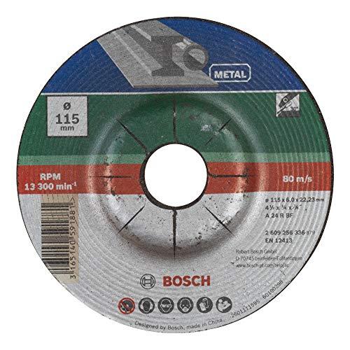 Bosch DIY Schruppscheibe Metall für Winkelschleifer (Ø 115 mm)