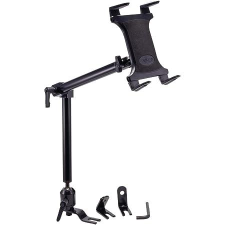 ARKON Mounts TAB801 Heavy-Duty Car or Truck Seat Rail Tablet Mount with 22 inch Arm Retail Black