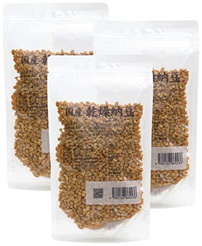 株式会社 自然健康社 自然健康社 乾燥納豆 100g×3袋 チャック付袋入り [4543]