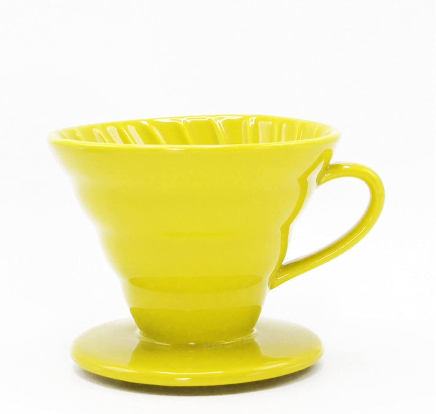 Reusable supreme Coffee Filters Special sale item Pour Over Cone Makers Spi Ceramic