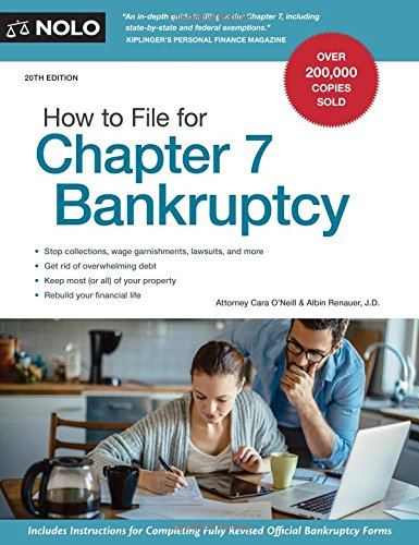 Compare Textbook Prices for How to File for Chapter 7 Bankruptcy Twentieth Edition ISBN 9781413324327 by O'Neill Attorney, Cara,Renauer J.D., Albin