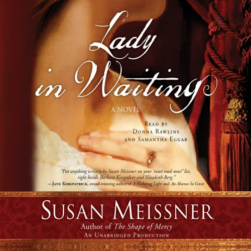Lady in Waiting audiobook cover art