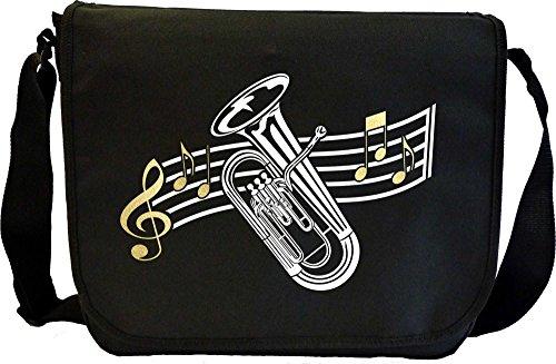 Musicalitee Euphonium Curved Stave - Sheet Music Document Bag Musik Notentasche