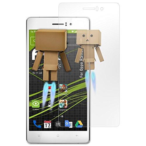atFolix Bildschirmfolie kompatibel mit Oppo R5/R5s Spiegelfolie, Spiegeleffekt FX Schutzfolie