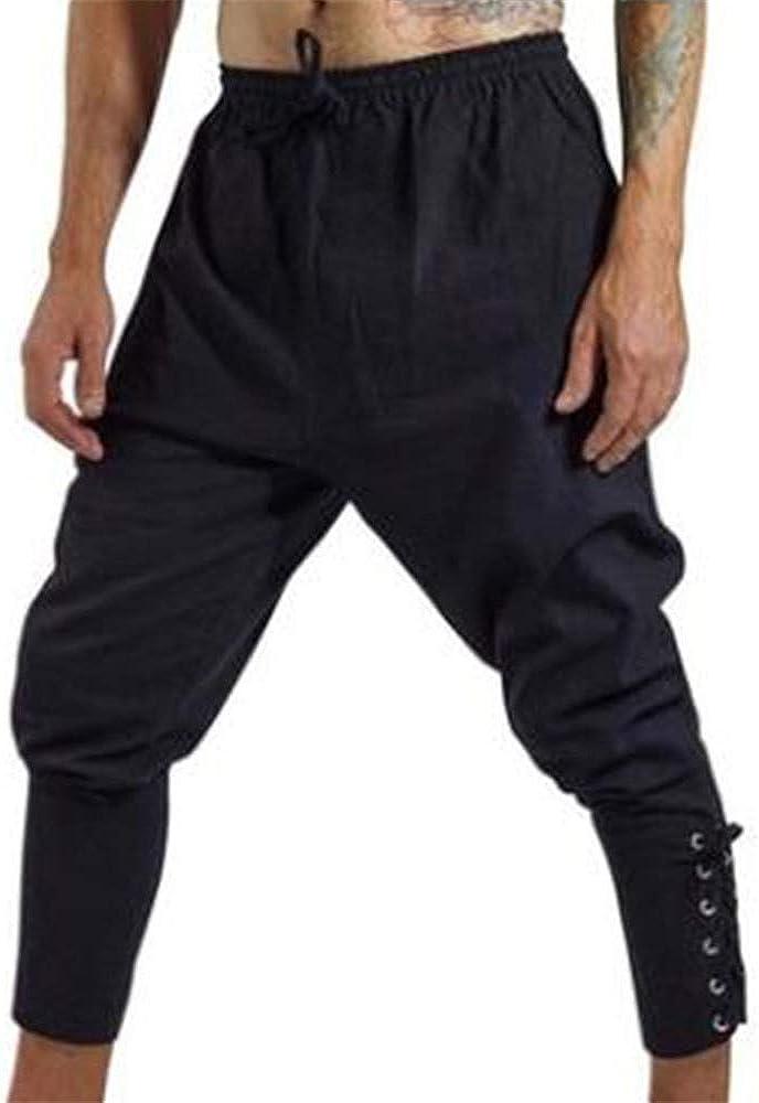 Men's Ankle Banded Max 64% OFF Pants Medieval Pirate Viking Regular discount Navigator Costum