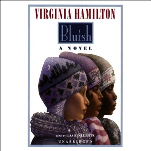 Bluish audiobook cover art