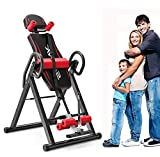 YADEOU Premium Gravity Heavy Duty Inversion Table 300 lbs Capacity with Adjustable Headrest and...