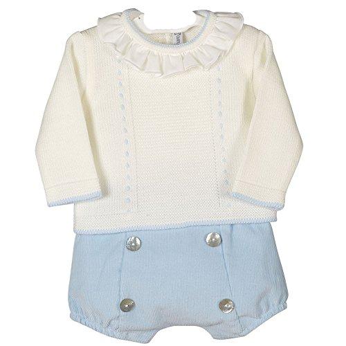 CALAMARO - Conjunto bebé-niños Color: Celeste Talla: 6