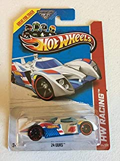 Hot Wheels 2013 24 Ours {HW Racing Series} White/Blue 104/250