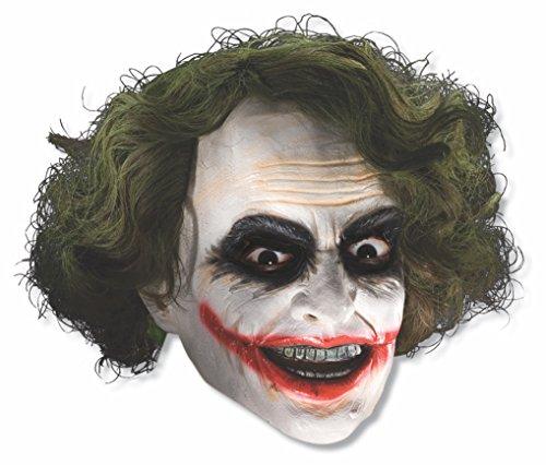 Costume Co 33000 Batman Dark Knight enfant Joker 3-4 Masque de vinyle de Rubie avec la taille des cheveux One-Size