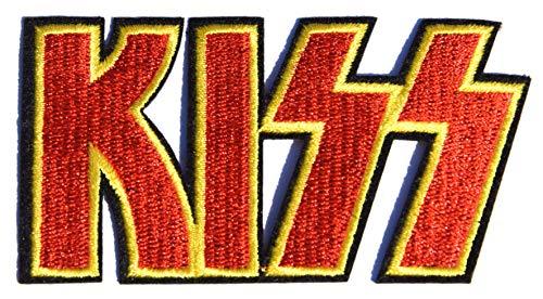 Aufnäher - Patch - KISS BAND - Stickerei Applikationen - Emblem