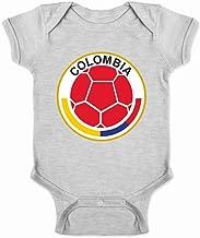 Colombia Futbol Soccer National Team Crest Infant Baby Boy Girl Bodysuit
