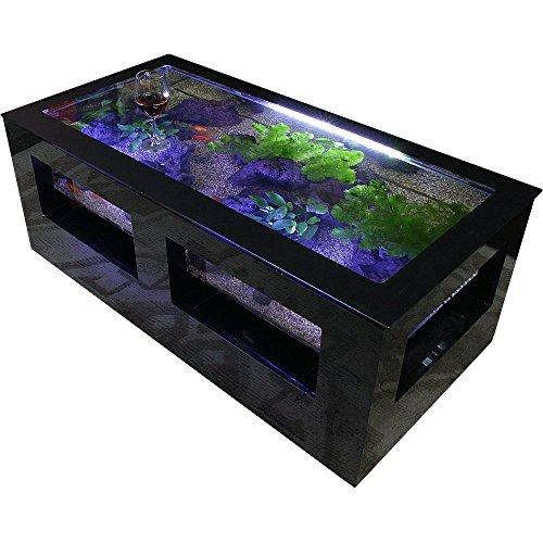 バーズアイ水槽 湧テーブル レクタングラ120 ブラック