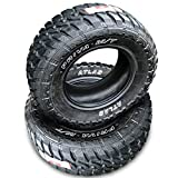 33x12.5/16.5 Tires - Set of 2 (TWO) Atlas Tire Priva M/T Mud Radial Tires-33X12.50R20LT 114Q LRE 10-Ply