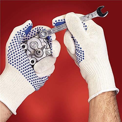 Ansell Handschuhe Tiger Paw® 76-301, Größe 10 weiß/blau, 12 Paar