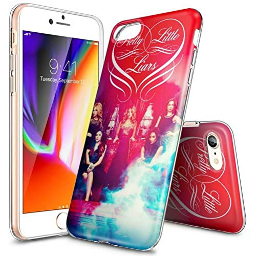 Custodia per iPhone XR, ultra sottile, trasparente, in TPU, antiurto, antigraffio, modelli personalizzabili [LZX20190423] iPhone 7 Plus/iPhone 8 Plus PRETTY (PLL) LITTLE LIARS