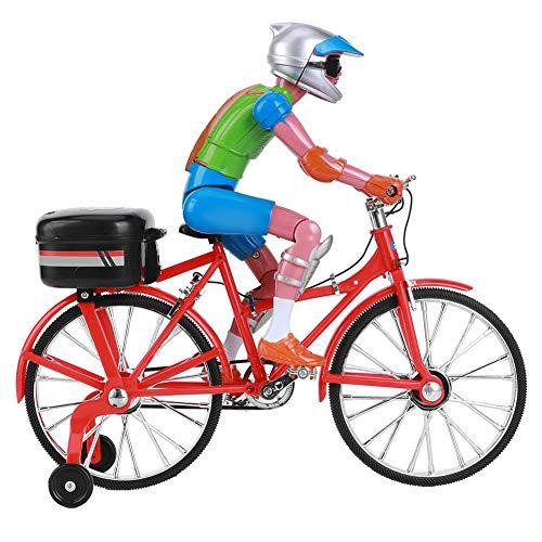 Juguetes para bicicletas, equilibrados con música ligera, modelo de bicicletas, para niños mayores de 7 años Regalos de Navidad Regalos de(red, electric bicycle)