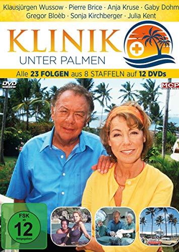Preisvergleich Produktbild Klinik unter Palmen - Die komplette Serie - alle 23 Folgen aus 8 Staffeln auf 12 DVDs