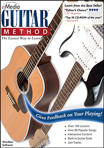 eMedia Guitar Method v6 [PC Download] - Learn at Home