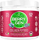 Berry Gen: Restore Collagen Powder with Antioxidants from BlackBerry and Blueberry Extracts - 30 Servings - Natural Dual Action Formula - Supports Joints, Hair, Skin, and Nails - Made in The USA