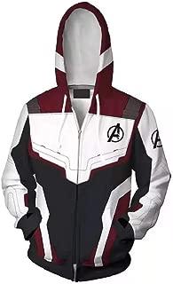 PONGONE Superhero Hoodie Advanced Tech Sweatshirt Halloween Cosplay Hooded Jacket