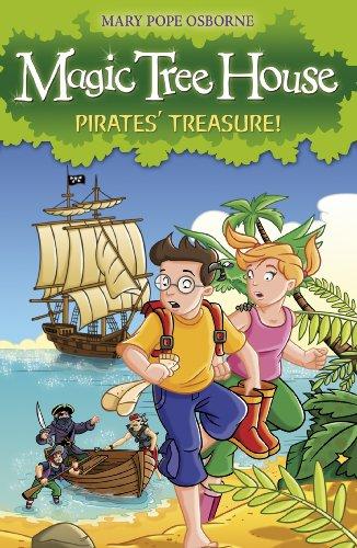 Magic Tree House 4: Pirates\' Treasure! (English Edition)