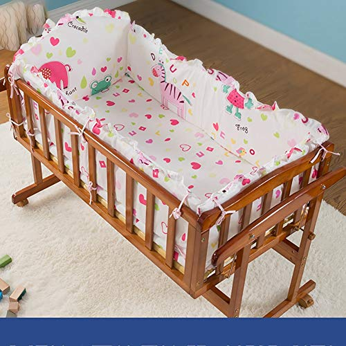 Why Should You Buy RRH-Cribs Crib Travel, Solid Wood Portable Crib Travel, Multifunction Newborn Cra...