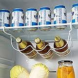 OSALADI Organizzatore Frigorifero Portabottiglie Portabottiglie Porta Birra Portabottiglie Frigorifero per La Casa 1 Pz