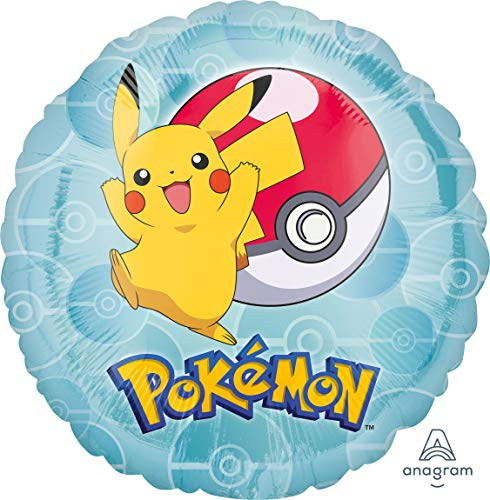 Amscan International 3633201 Pokemon - Globo de papel de aluminio