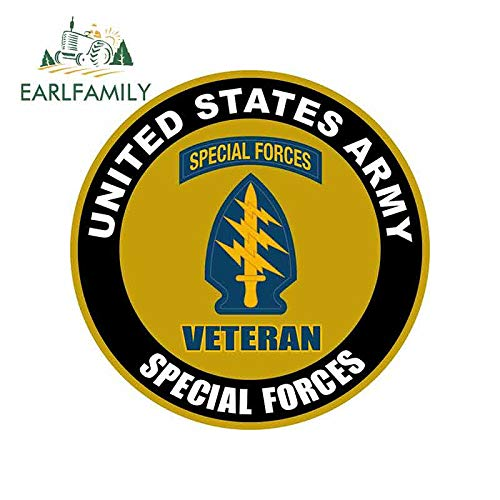 A/X 13cm x 13cm for United States Army Veteran Special Forces Sign Car Stickers Vinyl JDM Bumper Trunk Truck Graphics