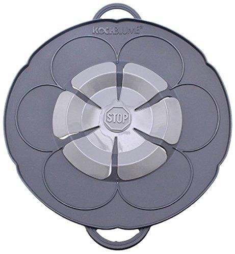 Kochblume Überkochschutz anthrazit klein - Ø 25,5 cm