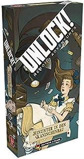 Asmodee Unlock! - Hinunter in den Kaninchenbau, Rätselspiel