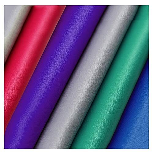 MAGFYLY lädertyg rulle PU fuskläder klädsel tyg, konstläder för soffa stol bagage bakgrund väggdekoration 137 x 91 cm (färg: 16#)