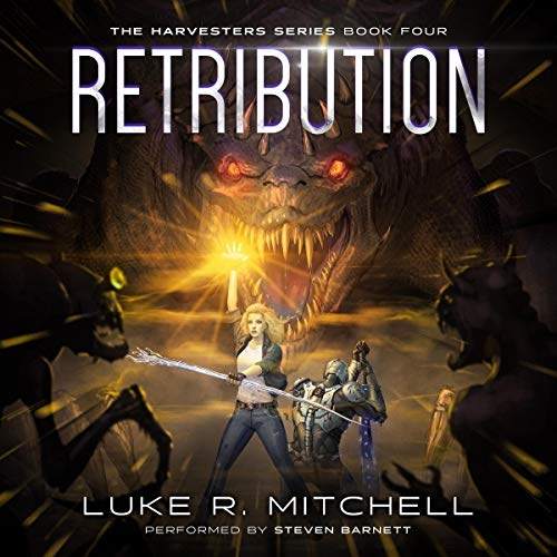 Retribution: A Paranormal Sci-fi Adventure Audiobook By Luke Mitchell cover art