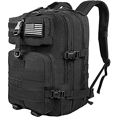 CVLIFE Military Tactical Backpack 40L Army Rucksack 4 Day Assault Pack Molle Bag …