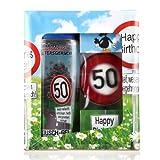Lustapotheke Geschenkset zum 50. Geburtstag (Duschgel und Handseife)
