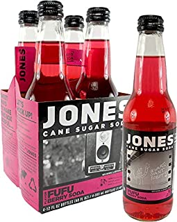 Jones Soda 4 Packs (Fufu Berry)