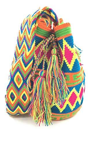 Wayuu Rucksack, handgemachte kolumbianische Handtaschen, sowohl für Frauen und Männer.