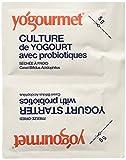 Kefir Starter Culture (Two 5gram Packets (1/3 Ounce Total) Makes a Total of 2 litres (2.1Quarts) + Intructions (Kefir Grains) Brand: Yogourmet