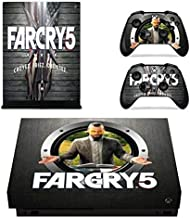 Mr Wonderful Skin Vinyl Skin Sticker Cover Decal for Microsoft Xbox One X Console and Remote Controllers Shooter game HD Printing