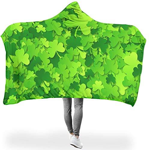 Ainiteey Thermische hoodie Wearable Super Soft Throw Blanket Voel je zacht voor bed in koude omgevingen, casual stijl
