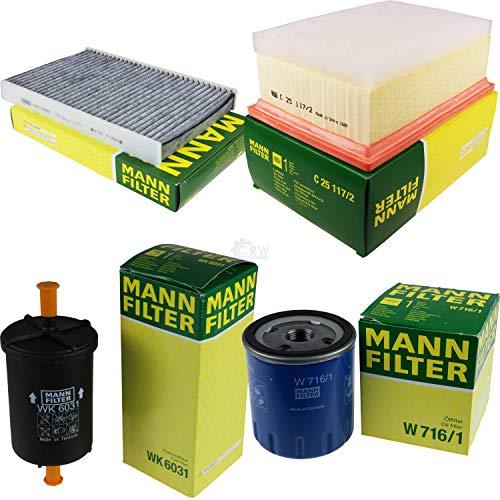 MANN-FILTER Inspektions Set Inspektionspaket Innenraumfilter Kraftstofffilter Luftfilter Ölfilter