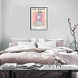 WKAQM Matisse Lienzo Pintura Griego Diosa Poster Y Cuadros Griego Estatua Pared Arte Moderno Dormitorio Sala Hogar Decoracion Cuadros 50x70cm (Sin Marco)