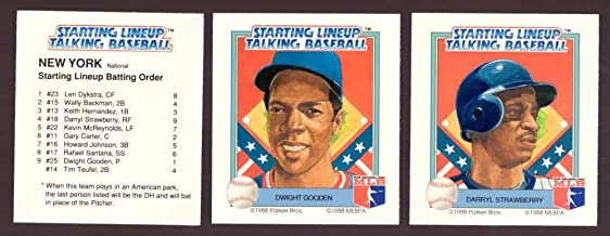 1988 Starting Lineup Talking Baseball NEW YORK METS Team Set